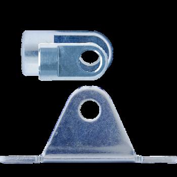 M8 Gelenkauge (19mm) Edelstahl 304 V2A mit Lagerschuh