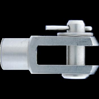 M5 Gabelkopf Edelstahl 304 V2A