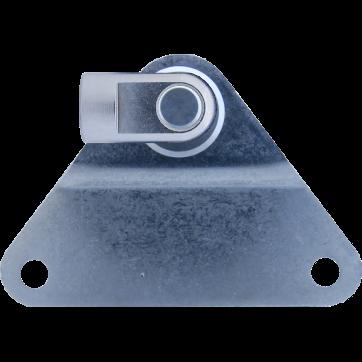 M8 Gelenkauge (19mm) Edelstahl 316 V4A mit Seitenbeschlag