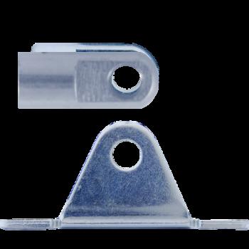 M8 Gelenkauge (27mm) Edelstahl 304 V2A mit Lagerschuh