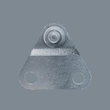 Seitenbeschlag 6mm (max. 180N) Edelstahl 316