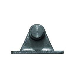Winkelbeschlag 6mm (max. 180N) Edelstahl 316