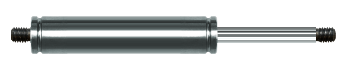 Gasdruckfeder 8-19 Hub 50 Edelstahl 304 V2A