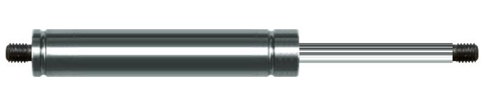 Gasdruckfeder 8-19 Hub 60 Edelstahl 316 V4A
