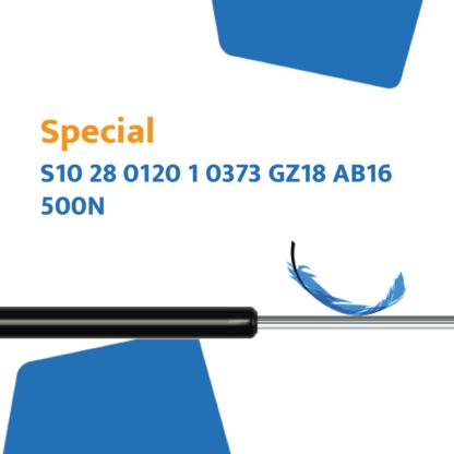 Hahn Gasfeder S10 28 0120 1 0373 GZ18 AB16 500N