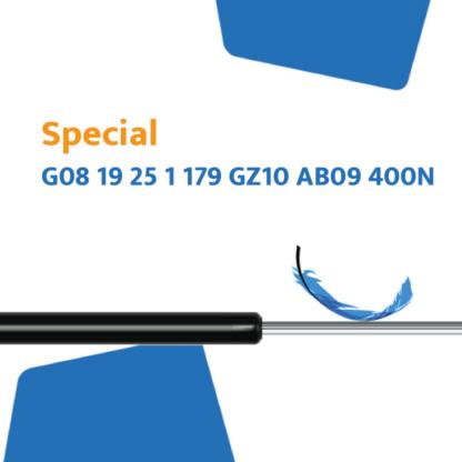 Hahn Gasfeder G08 19 25 1 179 GZ10 AB09 400N