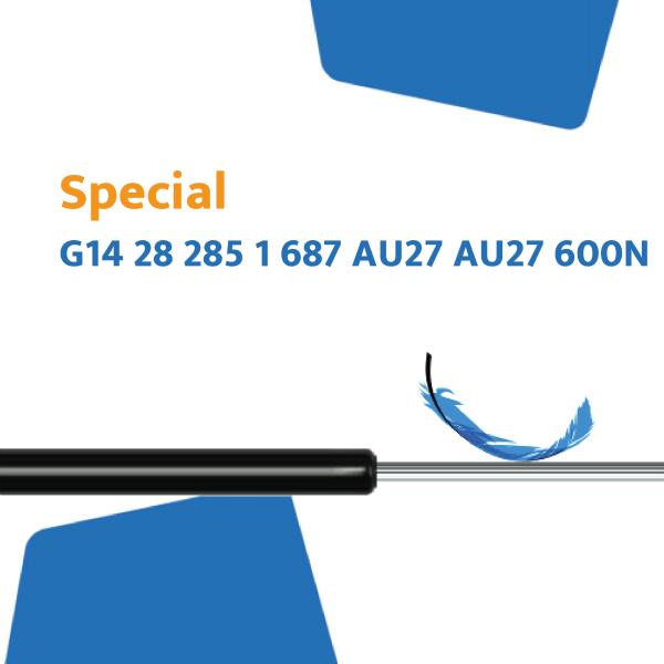 Hahn Gasfeder G14 28 285 1 687 AU27 AU27 600N